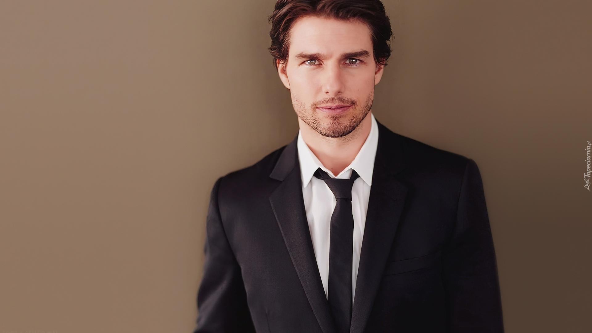 Tom Cruise, Aktor, Zarost, Krawat