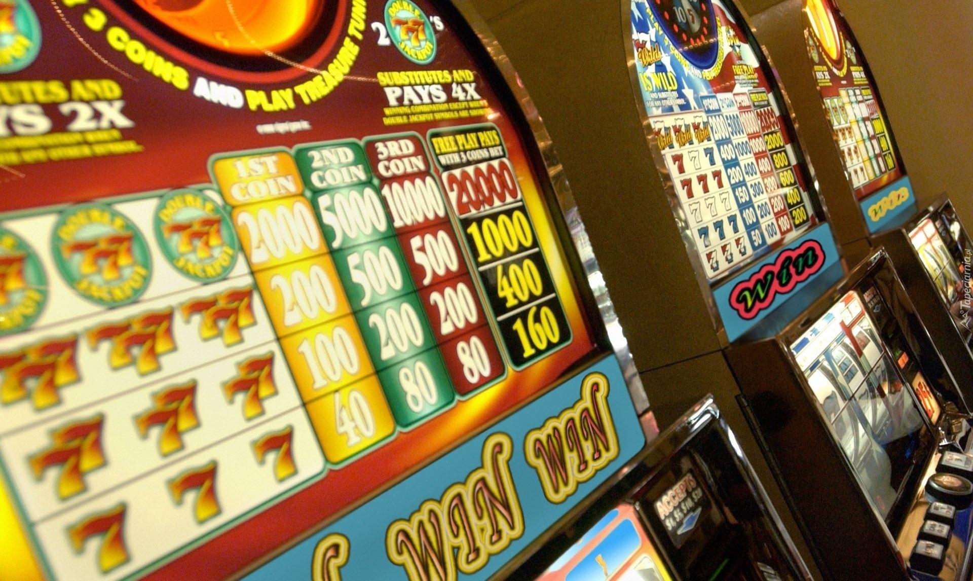kasyno maszyny do gry