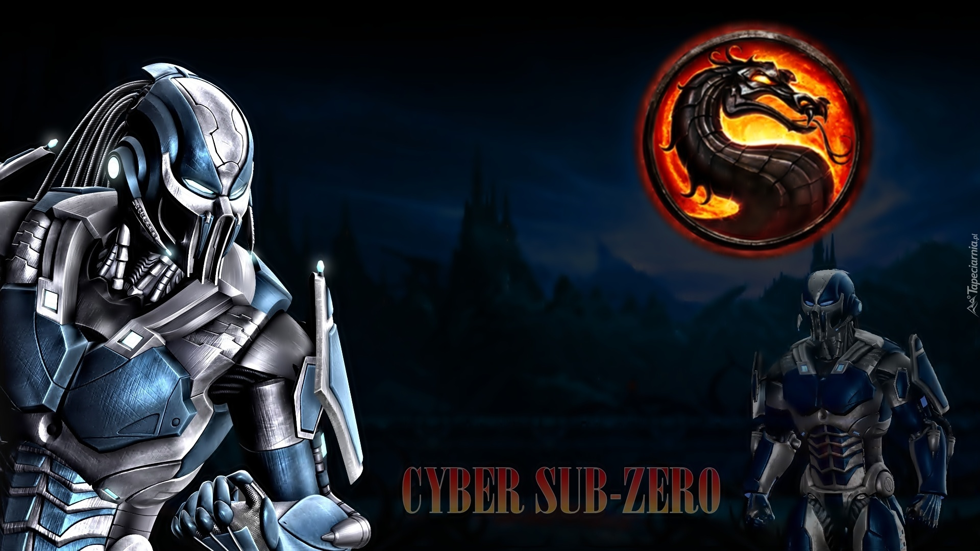 Cyber scorpion vs cyber sub zero