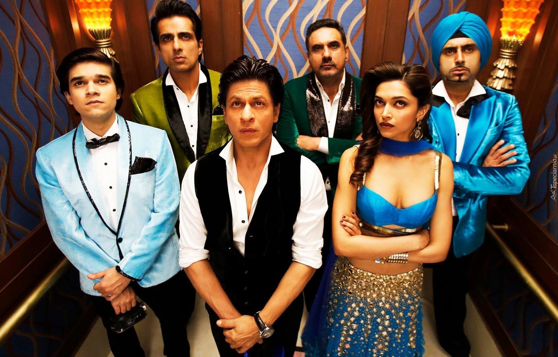 Film, Bollywood, Aktorzy, Deepika Padukone, Shahrukh Khan