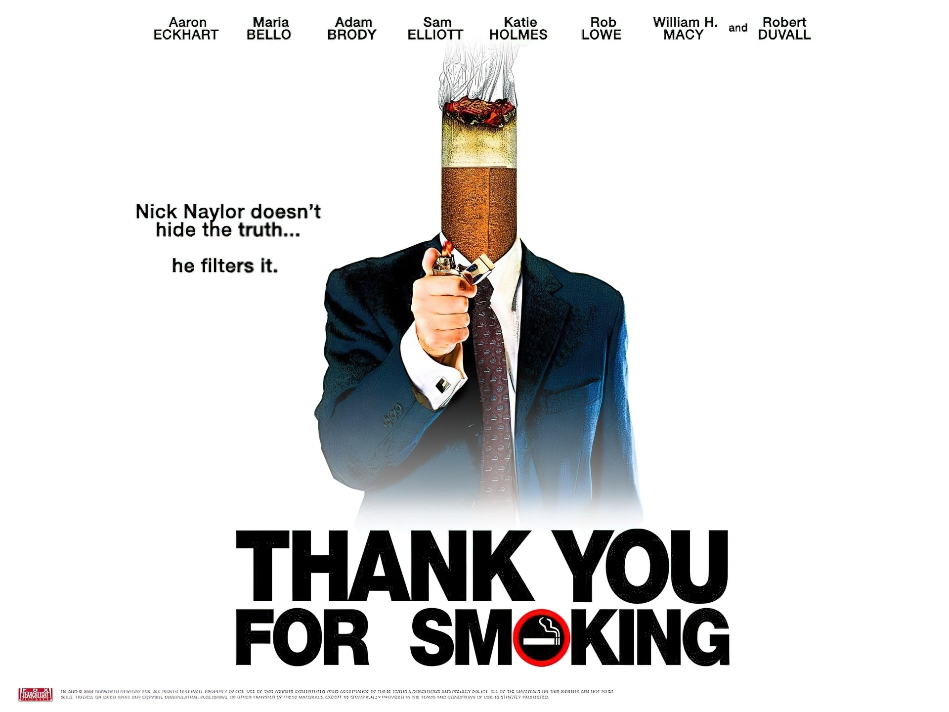 Thank You For Smoking Deutsch