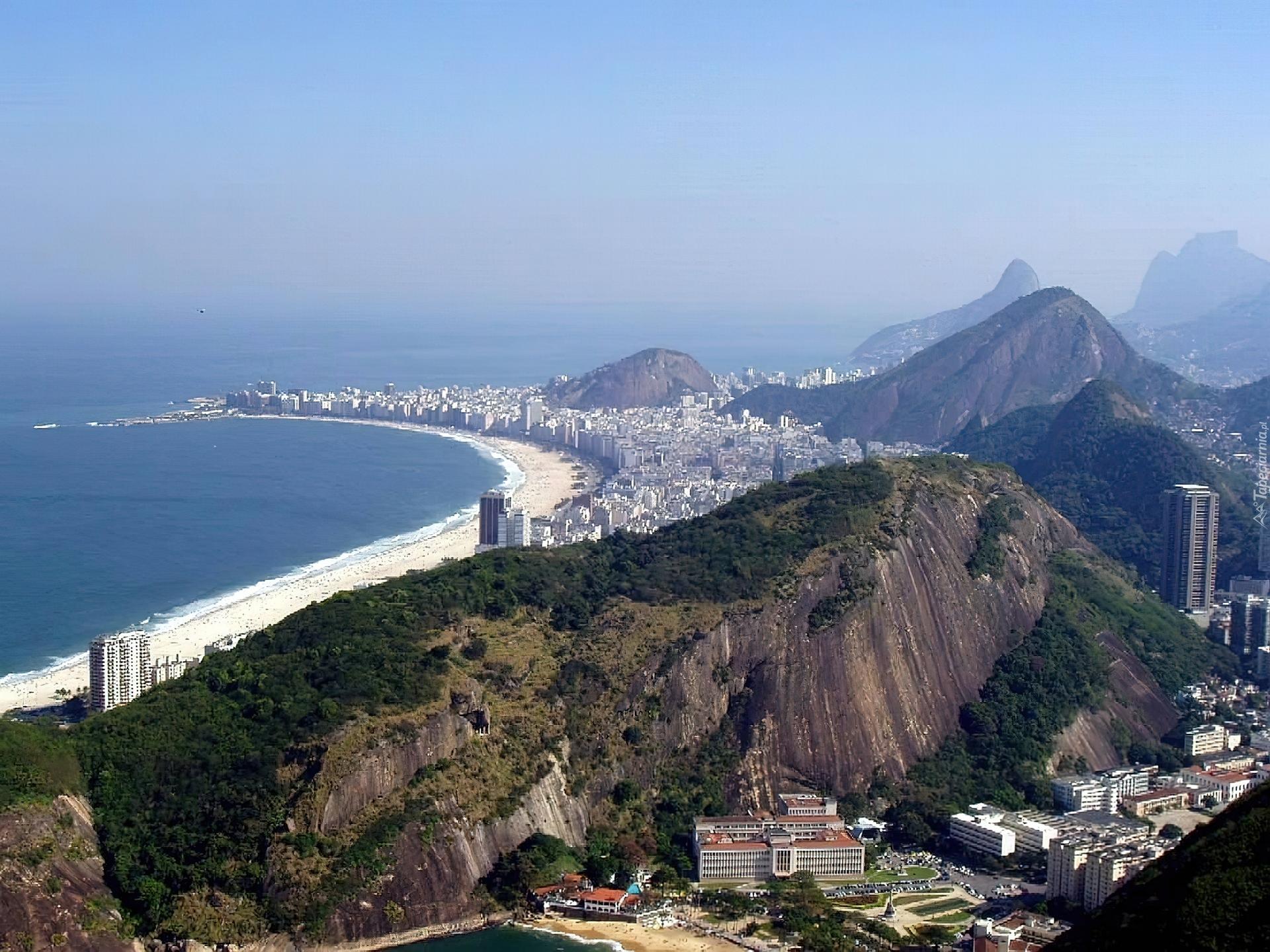 Pla U017ca Copacabanabeach Rio De Janeiro Brazylia