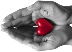 D�onie, Czerwone, Serce, Walentynki