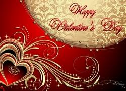 Walentynki, Czerwone, Serca