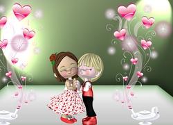 Walentynki, Laleczki, Mi�o��