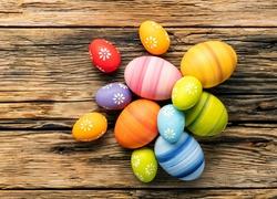 Wielkanoc, Kolorowe, Pisanki, Dekoracja